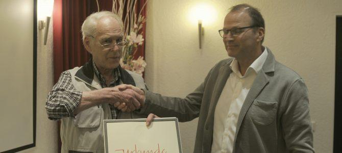 Bronzene Medaille für Heinz Sichelschmidt