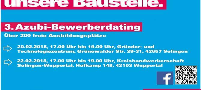 3. Azubi-Bewerberdating der Kreishandwerkerschaft Solingen-Wuppertal