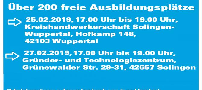 4 . Azubi-Bewerberdating der Kreishandwerkerschaft Solingen-Wuppertal